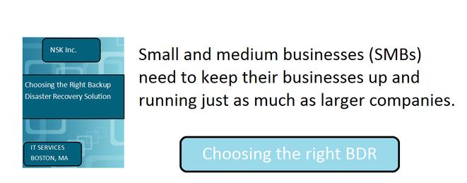 Choosing the right BDR