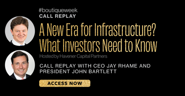 A New Era for Infrastructure? What Investors Need to Know