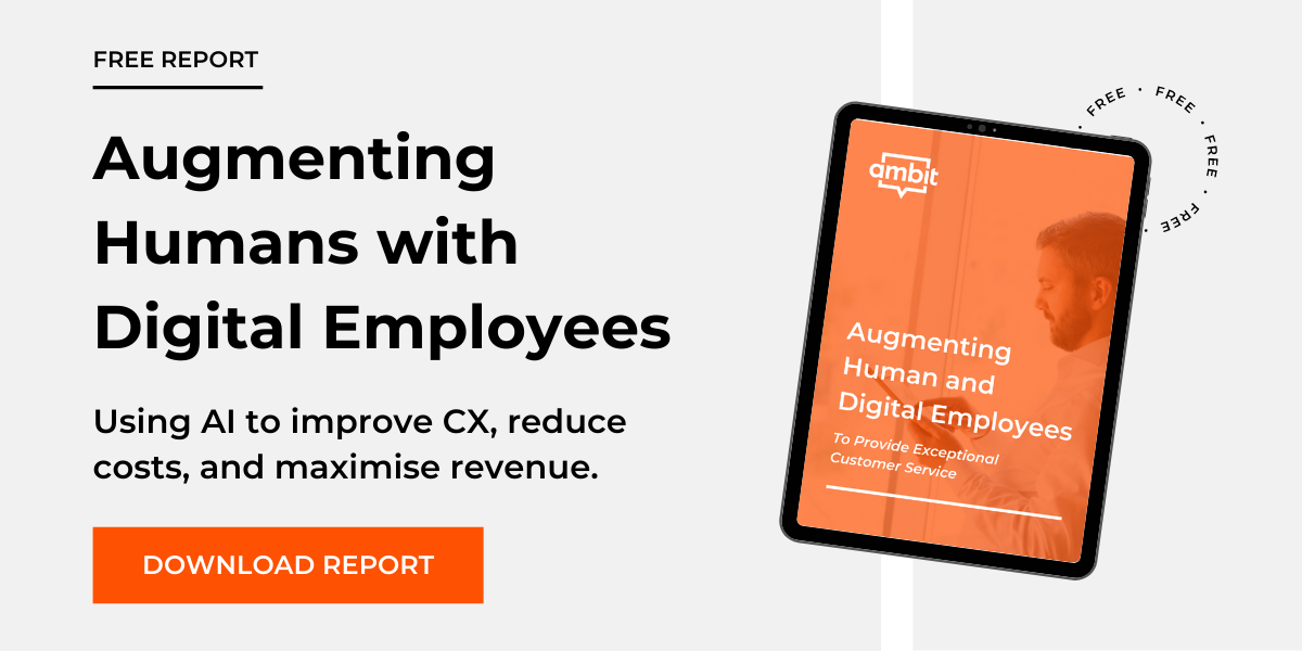 Augment humans with digital employees