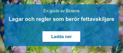 En guide av Bioteria  Lagar och regler som berör fettavskiljare    Ladda ner