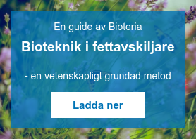En guide av Bioteria  Bioteknik i fettavskiljare    - en vetenskapligt grundad metod Ladda ner