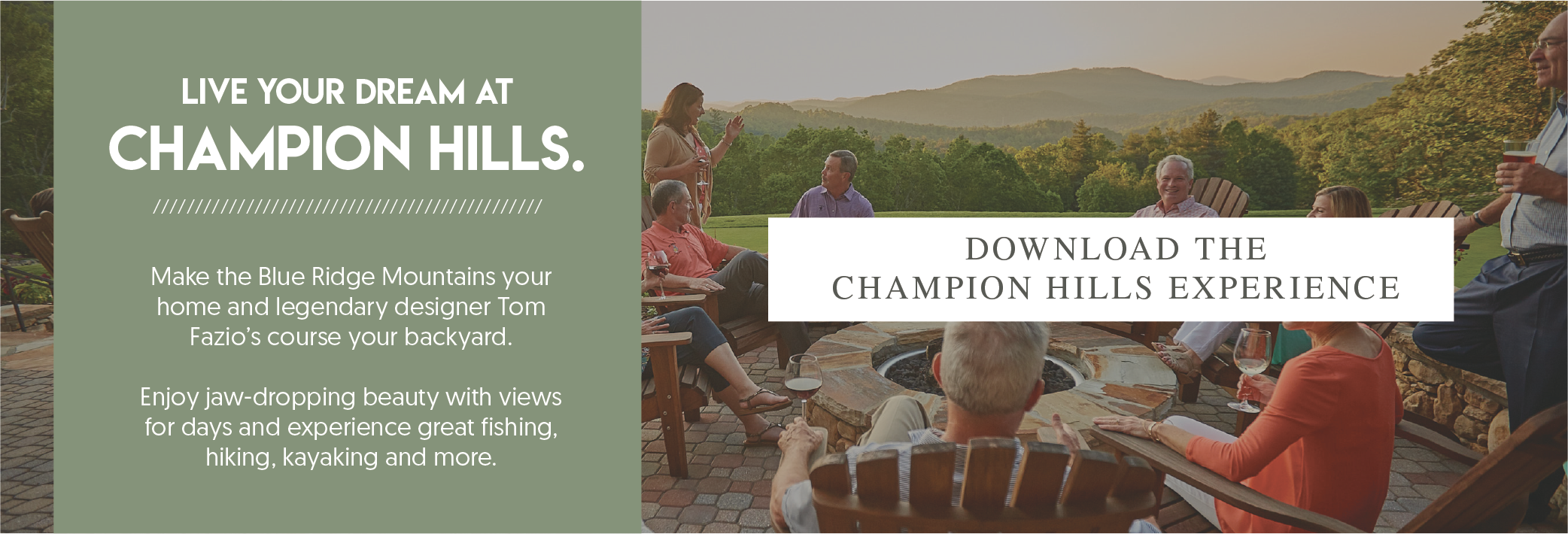 live your dream at champion hills