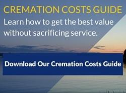 Download the cremation costs explained guide.
