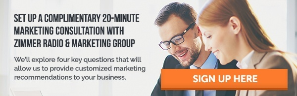 Marketing Consultation with Zimmer Radio and Marketing Group