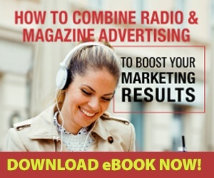 How to combine radio and magazine advertising ebook