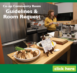 Co-op Community Room Guidelines & Room Request – Fillable Form