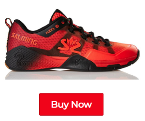 Salming Kobra 2 Lava Red / Black Indoor Court Shoes - Buy Now