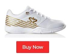 Salming Viper 5 White Gold Women's Indoor Court Shoes - Buy Now