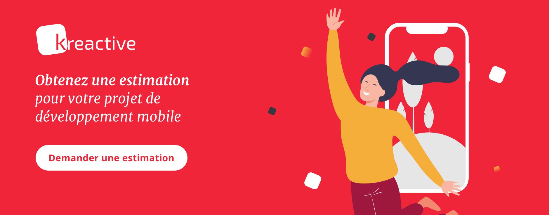 Estimation projet de développement mobile