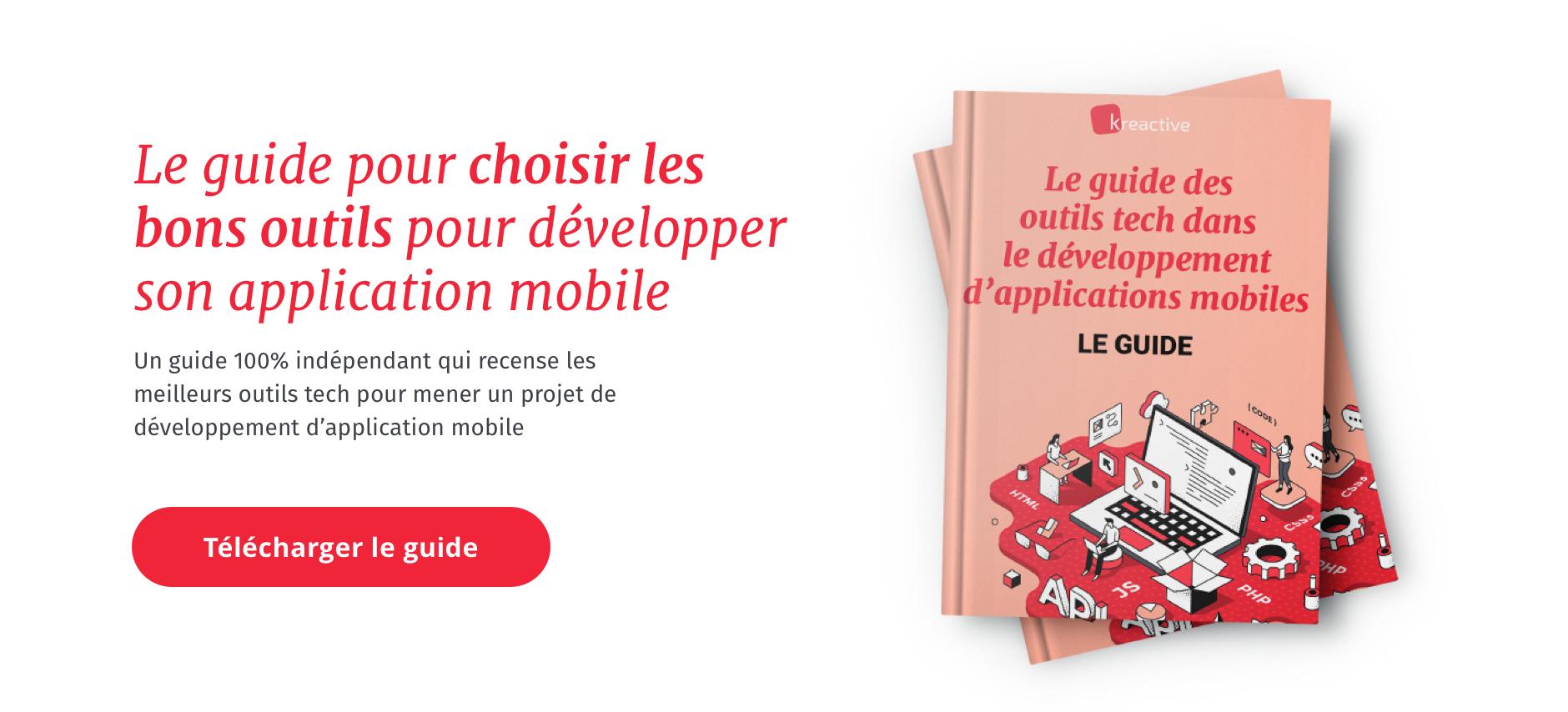 Le guide des outils tech pour le développement mobile