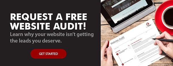 Request A Free Website Audit