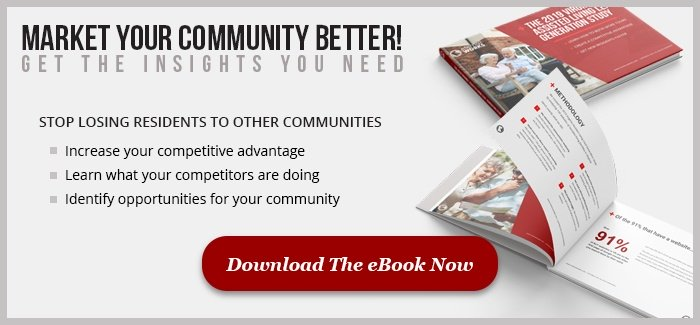 Ad for the 2019 virginia assisted living lead generation study eBook