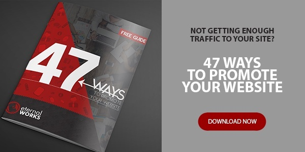 "Image of eBook ""47 ways to promote your website"".  Click to download the eBook"