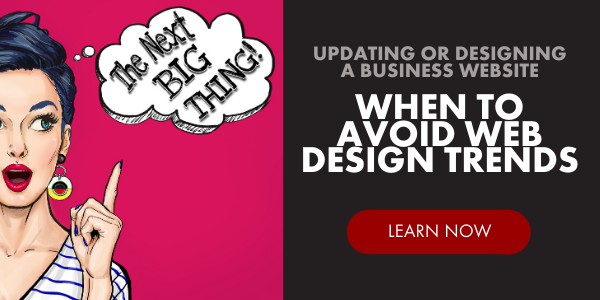 Link to 6 Reasons to Avoid Trends for Effective Web Design Blog