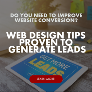 Link to Web Design Tips on Lead Generation, Inbound Marketing, CRO, Conversion Rate Optimization