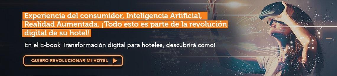 E-book de Transformación digital para hoteles