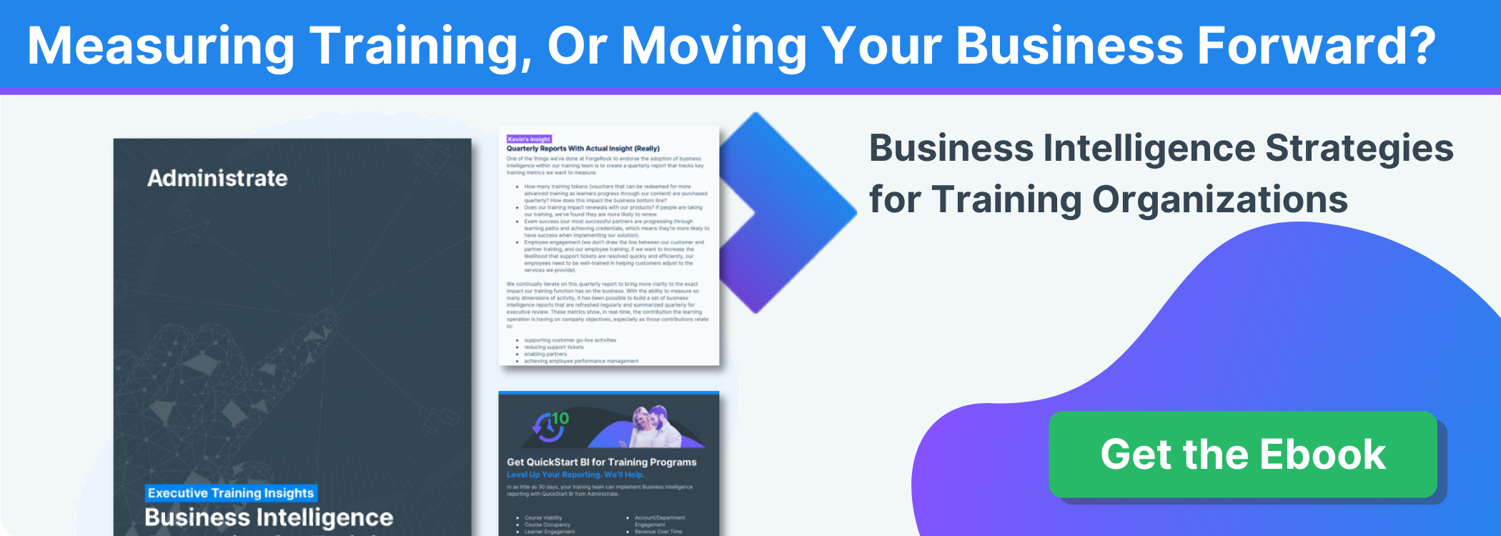 Get the Ebook: Business Intelligence Strategies for Training Organizations