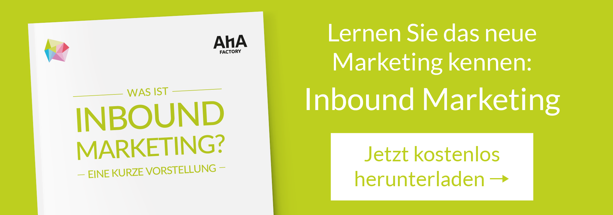 CTA - Was ist Inbound Marketing?