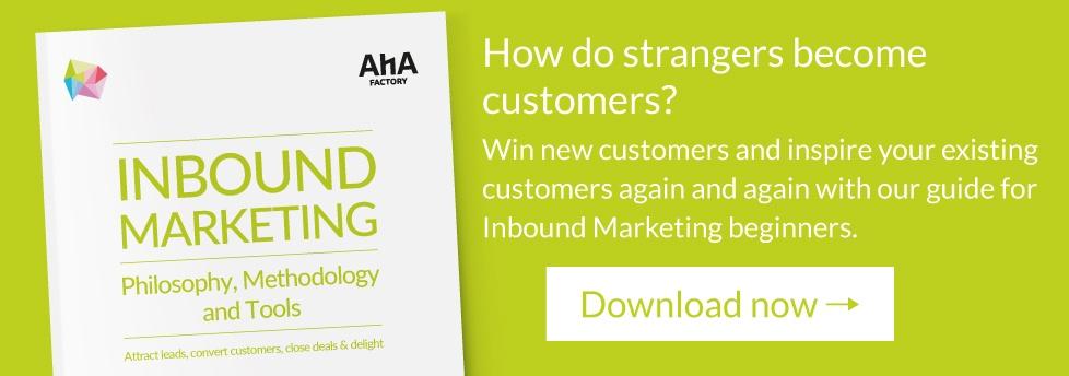 Download Inbound Marketing eBook now!