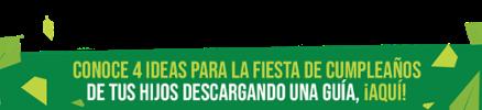 4 ideas para la fiesta de cumpleaños de tus hijos - Casas Del Árbol - Marzo 2020