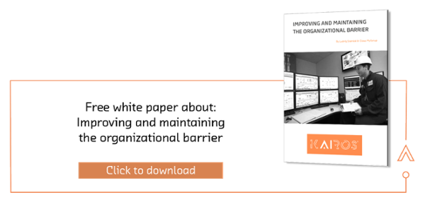 White paper: Improving and maintaining the organisational barrier, risk management
