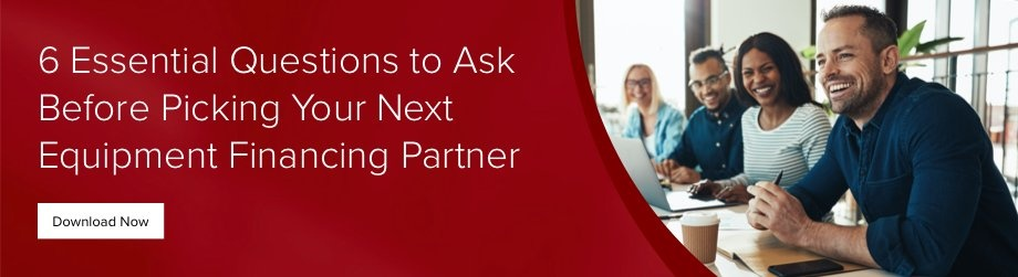 Essential Questions to Ask Your Equipment Financing Partner