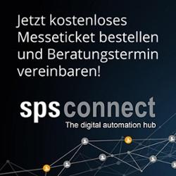Kostenfreies Messeticket SPS Connect 2020