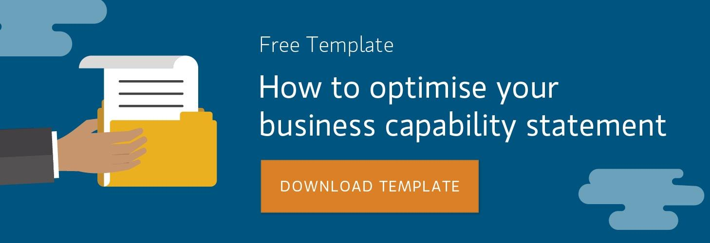preparing a business capability statement template ebook free download