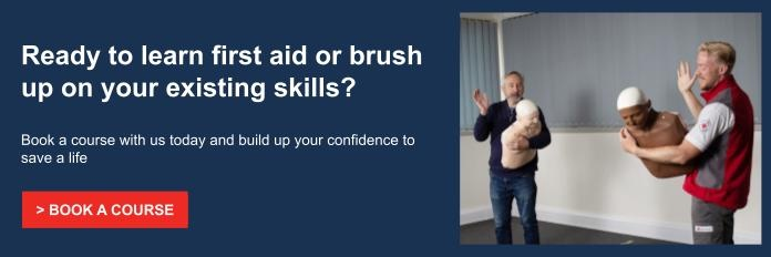first aid course booking