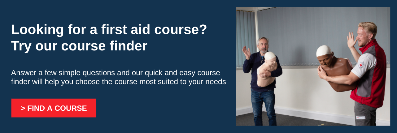 Try our first aid course finder