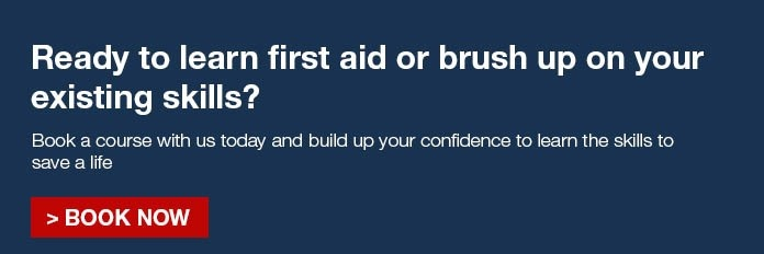 book first aid training course now