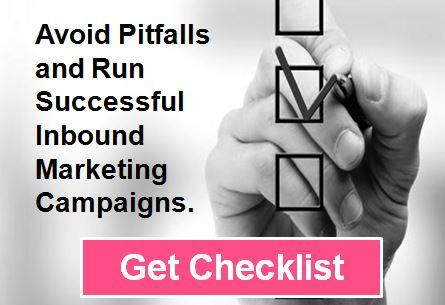 Checklist on how to run inbound marketing campaigns successfully.