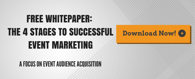 Free Downloadable Whitepaper: The 4 Stages to Successful Event Marketing