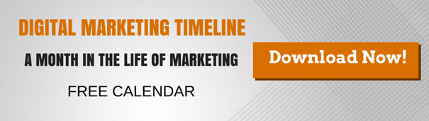 Digital Marketing Timeline