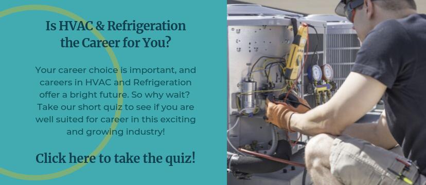 HVAC & Refrigeration career assessment quiz