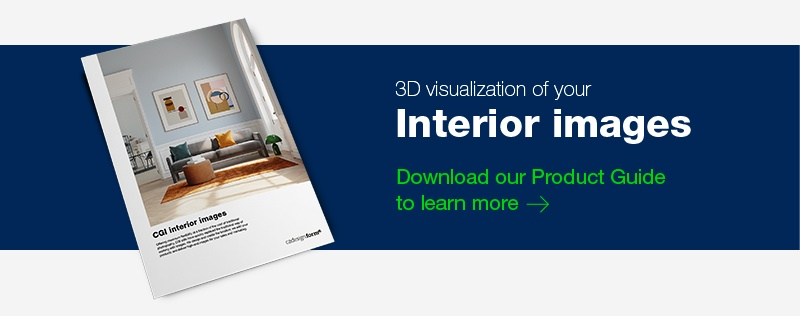 Download our Product Guide: 3D visualization of your Interior Images