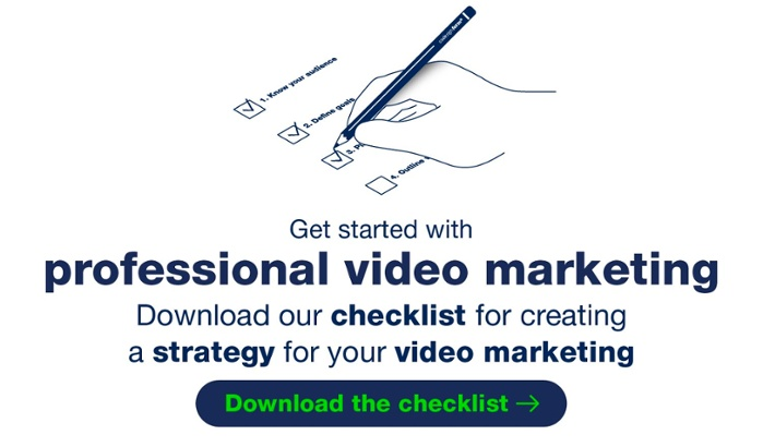 Video marketing strategy checklist by Cadesign form