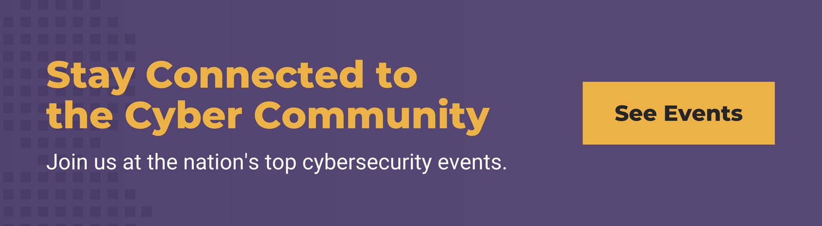 cybersecurity events page