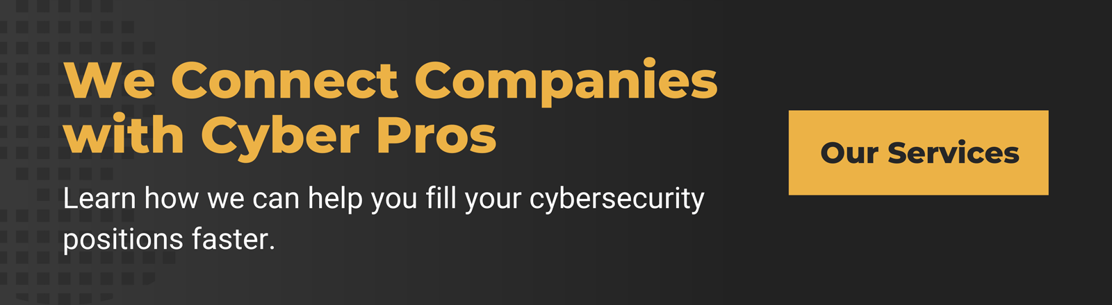 cybersecurity recruiting services