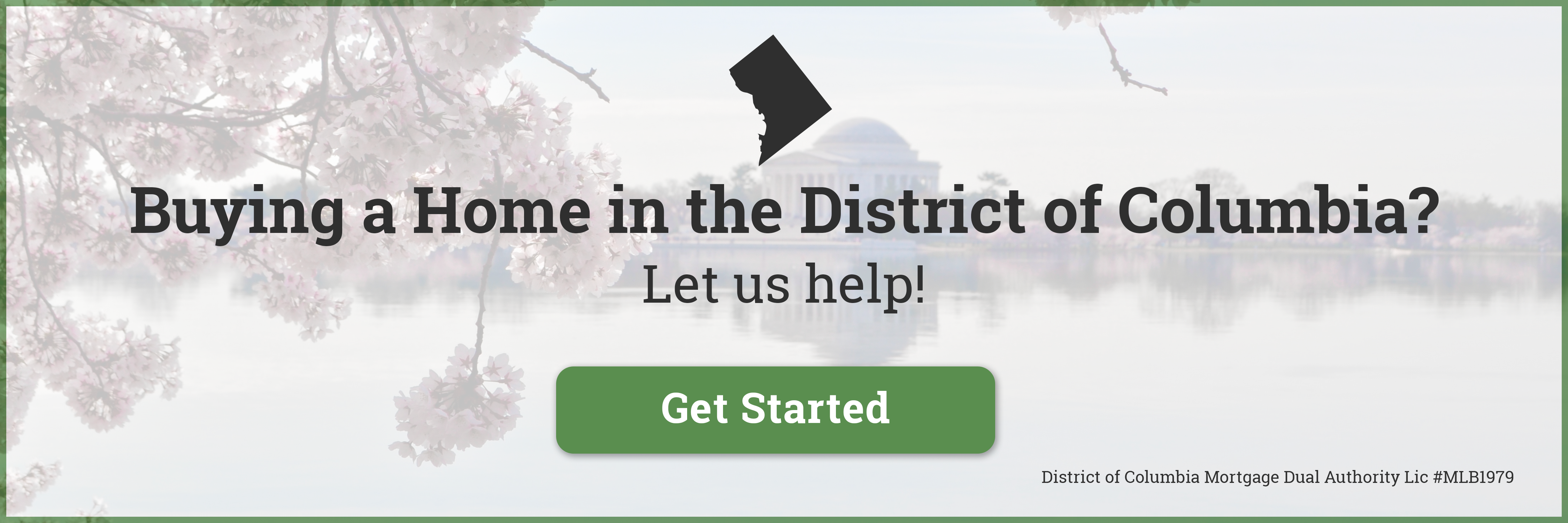 Buying a Home in the District of Columbia?