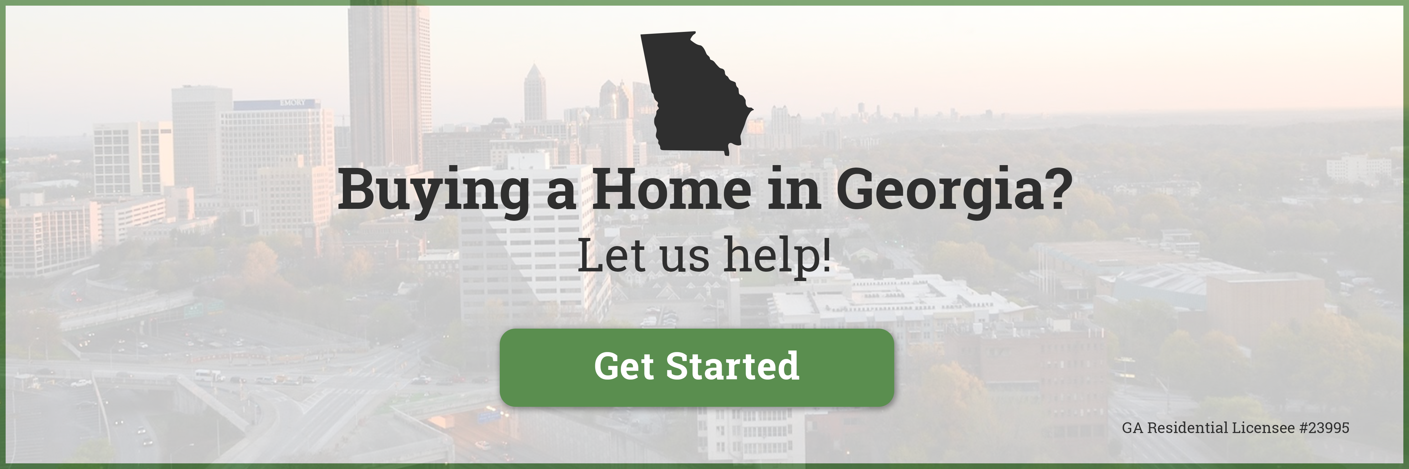 Buying a Home in Georgia?