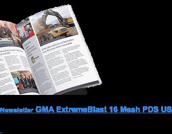 Newsletter GMA ExtremeBlast 16 Mesh PDS US