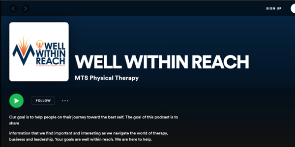 Well within reach Podcast MTS