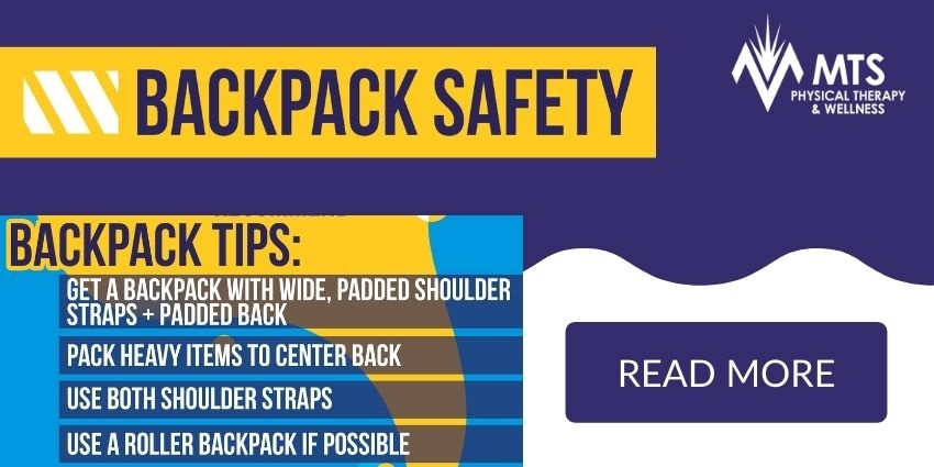MTS Therapy & Wellness Backpack Safety | Read More