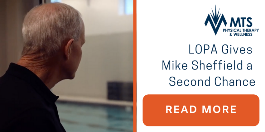 Louisiana Organization LOPA Gives Lafayette Mike Sheffield a Second Chance at Life | MTS Physical Therapy