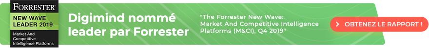 apport Forrester New Wave: plateformes de veille stratégique et concurrentielle, 4ème trimestre 2019