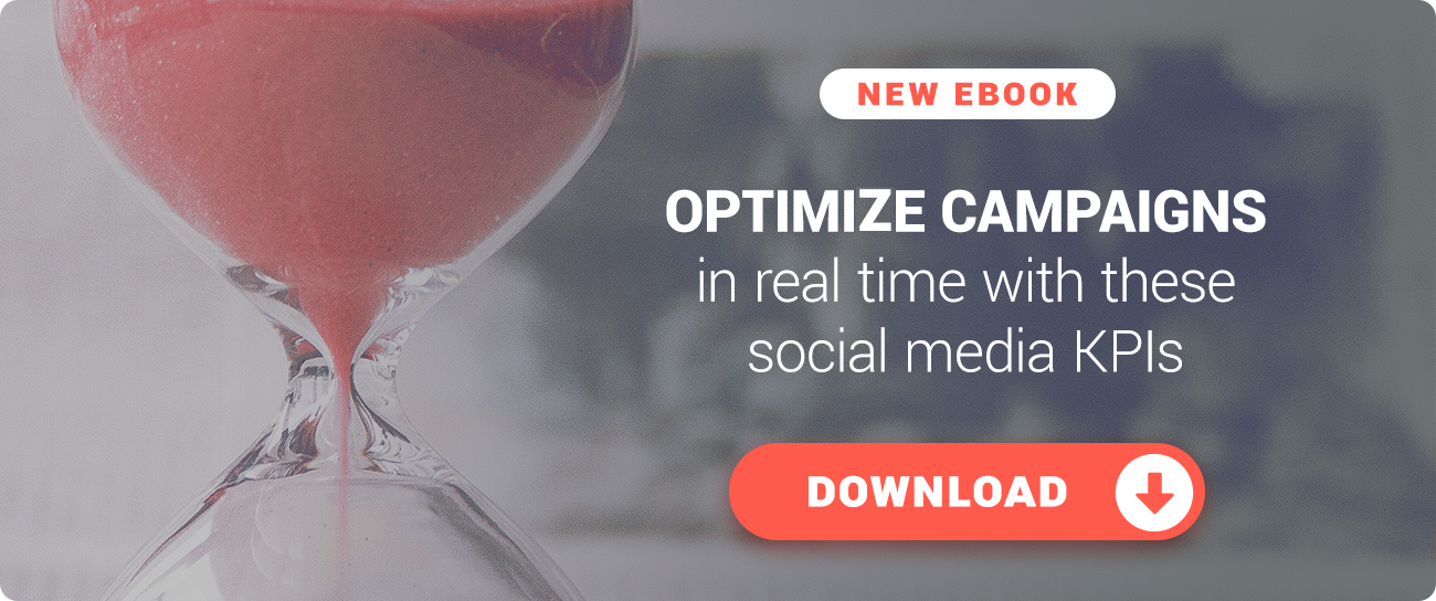 Optimize campaigns in real time with these essential social media KPIs! Download our guide.