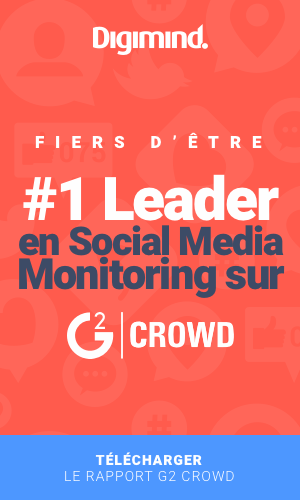 Leader social media monitoring G2Crowd