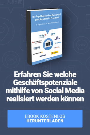 Top 1à deutschen banken auf dem social media