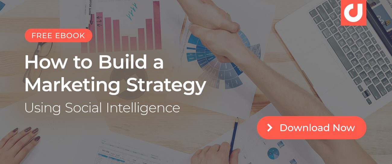 Discover how to build a marketing strategy using social intelligence! Download this guide.